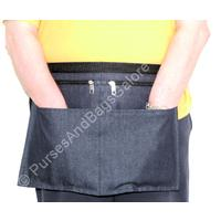 Money Belt / Market Traders Apron Blue Denim